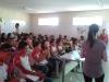 Palestra sobre Alimentação Saudável na Escola 25 de Julho, Juazeiro-BA - 03.10.13