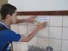 Atividade de adesivagem - Escola Modelo Luís Eduardo Magalhães - Juazeiro-BA - 21.05.15