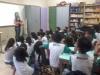 Palestra e atividade sobre compostagem - Escola Municipal Professora Zélia Matias