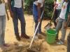 Atividade de arborização - Escola Mãe Vitória - 01.12.14 - Petrolina-PE