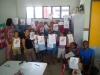Arte ambiental e coleta seletiva mobilizam escolas