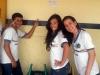 Atividade de Adesivagem na Escola Profº Humberto Soares, Petrolina-PE, 01.04.2014