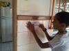 Atividade de Adesivagem no Colégio Estadual Misael Aguilar Silva - Juazeiro-BA - 03.04.2014
