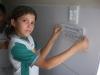 Atividade de Adesivagem na Escola Municipal Professora Zélia Matias, Petrolina-PE, 31.03.2014