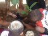 Atividade de Arborização na Escola Municipal Paulo VI, no Bairro Maria Goreti, Juazeiro - BA