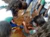 Atividade de Arborização na Escola Bruna Negreiros, N7, Petrolina - PE