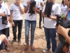 Atividade de Arborização na Escola Pe Luiz Cassiano - Petrolina - PE - 06.05.2014