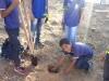 Atividade de Arborização na Escola Rui Barbosa - Juazeiro-BA - 26.05.2014