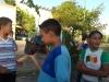 Atividade de arborização - Escola Nossa Senhora Rainha dos Anjos (CAIC) - Petrolina-PE - 09.04.2015