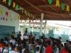 Entrega dos tambores coloridos para Coleta Seletiva na Escola Municipal Prof. Walter Gil - Petrolina-PE - 05.06.2014