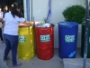 Entrega dos tambores coloridos para Coleta Seletiva na Escola Pe Luiz Cassiano - Petrolina-PE - 03.06.2014