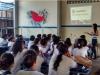 Atividades de saúde ambiental do PEV sensibilizam professores e alunos