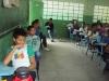 Palestra sobre coleta seletiva - Escola Mãe Vitória