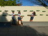 Atividade de Horta Suspensa na Escola NM6 - Petrolina-PE