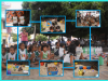 Escola expõe em praça pública brinquedos feitos pelos alunos