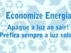 Adesivos de sensibilização ambiental