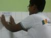 Atividade de adesivagem - Escola Municipal Professor Nicolau Boscardin - Petrolina-PE - 05.05.15