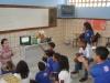 Implantação da horta - Colégio Estadual Rui Barbosa