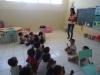 Mobillização de coleta seletiva - Escola Dilma Calmon