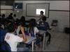 Palestra sobre reciclagem - Escola Estadual Cecílio Mattos