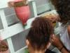 Implantação de horta suspensa - Casa Lar Sementes do Amanhã - 06.11.14 - Petrolina-PE