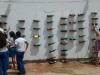 Implantação de horta suspensa - Escola de Aplicação Prof.ª Vande de Souza Ferreira - 05.12.14 - Petrolina-PE