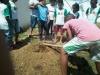 Criação de horta - Escola Municipal Jeconias José dos Santos - Petrolina