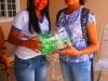 Cesto de lixo reciclado produzido por aluna da Escola Pe. Luiz Cassiano - Petrolina-PE - 20.03.2014