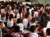 Palestra de saúde ambiental realizada na Escola Municipal Dinorah Albernaz - Juazeiro - BA - 29/08/13