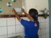 Adesivagem - Colégio Estadual Vila São Joaquim - 04.11.14 - Sobradinho-BA