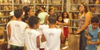 Estudantes visitam Xiloteca do CRAD-Univasf - Escola Iracema Pereira da Paixão - Juazeiro-BA (18-10-2012)