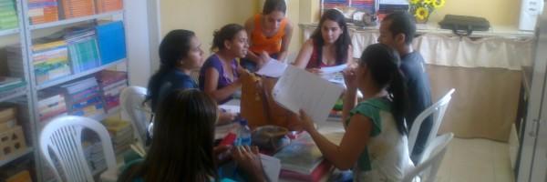 Professores da Escola 25 de Julho (Juazeiro-BA) respondem a Questionário do PEV 2 (08-08-2013)