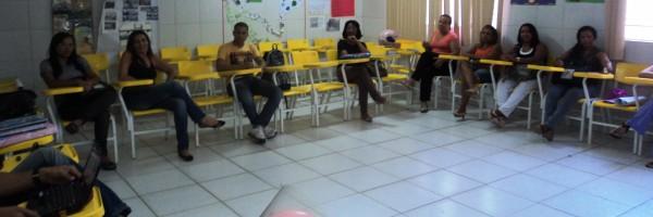 Professores e Gestores mobilizados para a causa ambiental na Escola Profa Carmem Costa Santos 2, Juazeiro-BA (19-072013)