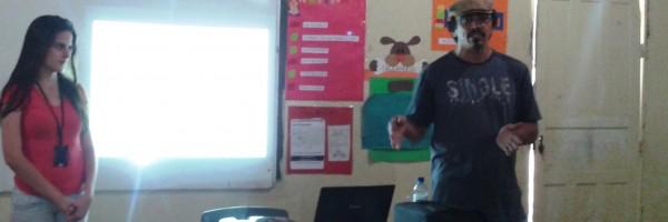 Atividade de Ambientalização na Escola Raimundo Medrado Primo- Juazeiro - 29-08-2013