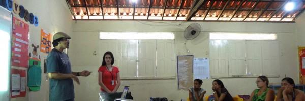 Atividade de Ambientalização com os Professores da Escola Raimundo Medrado, bairro Kidezinho, Juazeiro-BA - 29-08-2013