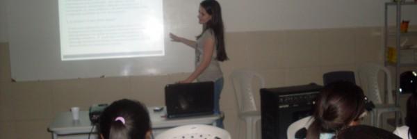 Palestra de Ambientalização  na escola Maria Castro - Petrolina - PE - 21.08.13