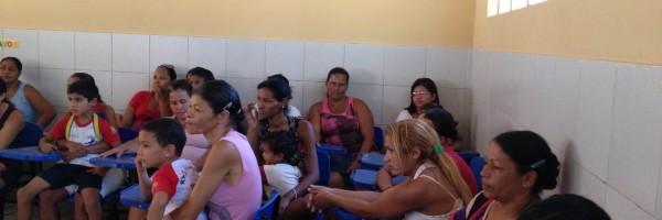 Palestra mostrando atividades desenvolvidas no PEV na Escola Dinorah Albernaz -  Juazeiro - BA - 16.08.13