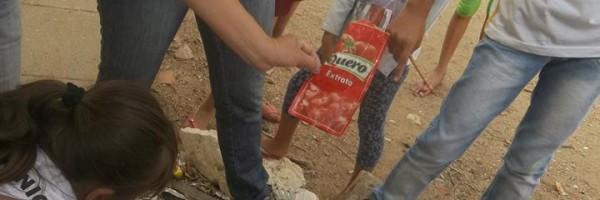 Atividade Prática Sobre o Lixo na Escola Ludgero da Costa, Juazeiro-BA - 25.10.13
