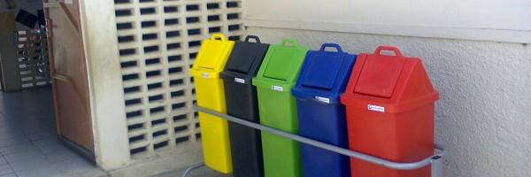 Utilização dos Coletores de Lixo pela primeira vez na Escola Ludgero da Costa, Juazeiro-BA - 20.11.13