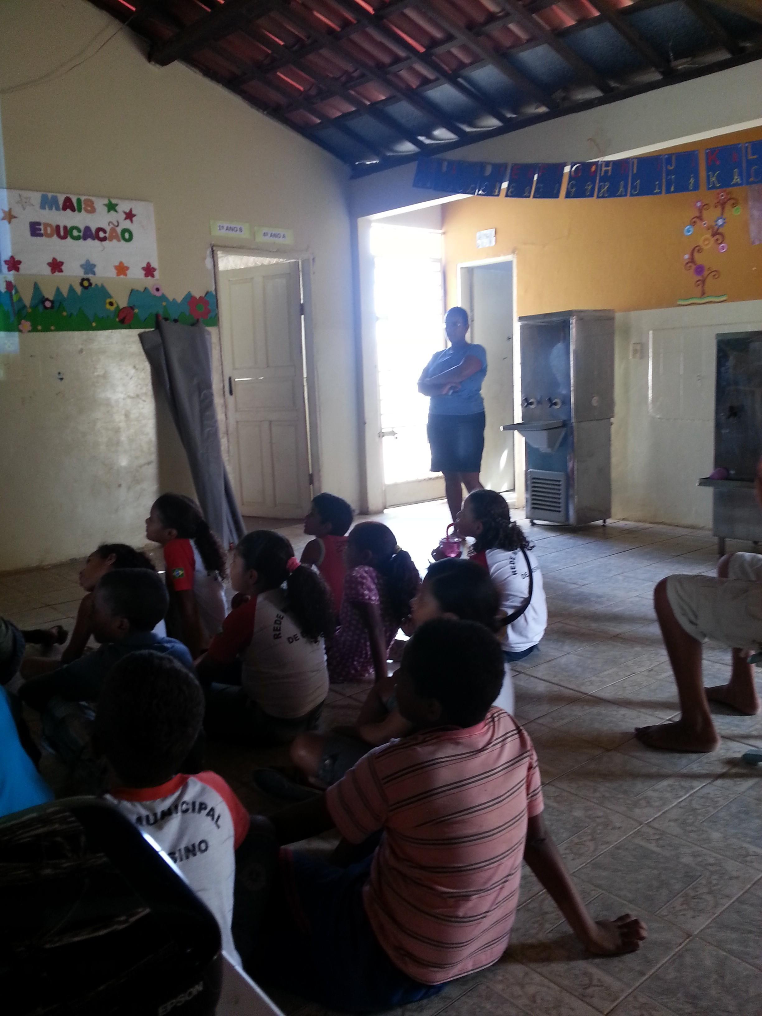 Palestra sobre Saúde Ambiental na Escola Raimundo Medrado Primo, Juazeiro-BA - 22.11.13
