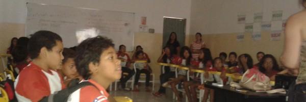 Palestra de Saúde Ambiental na Escola João Paulo VI, Juazeiro-BA - 20.11.13