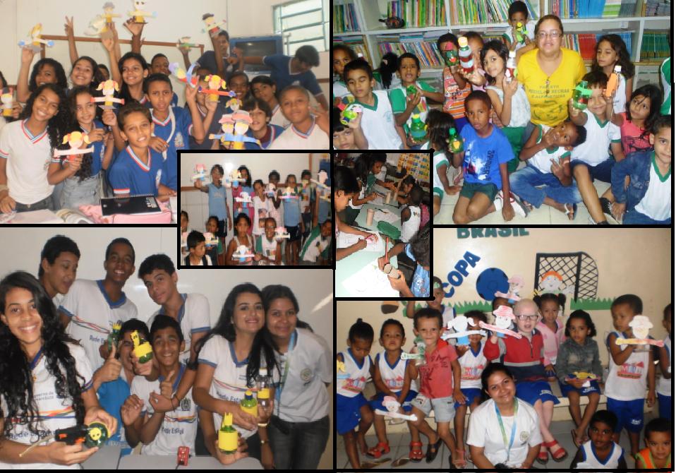 Oficinas de Reciclagem nas Escolas de Petrolina-PE e Juazeiro-BA - maio/2014