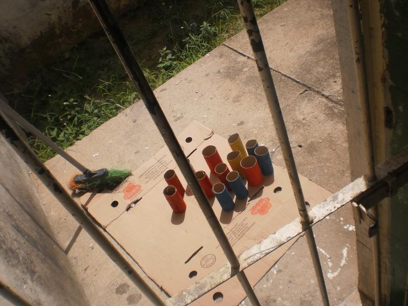 Oficina de Reciclagem na Escola Municipal Jeconias José dos Santos - Petrolina-PE - 15.05.2014