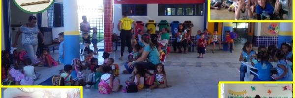 Atividades Artísticas promovidas pelo PEV nas Escolas de Petrolina-PE e Juazeiro-BA - maio/2014