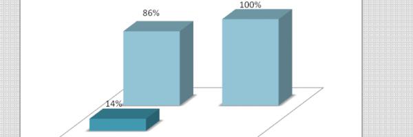 Gráfico 18. Distribuição percentual da existência de COM-VIDA. Todos os níveis