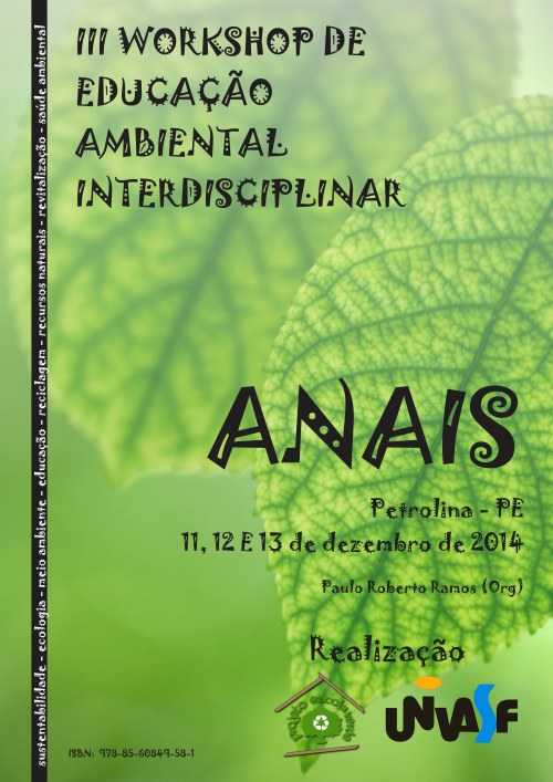 Capa Anais III WEAI