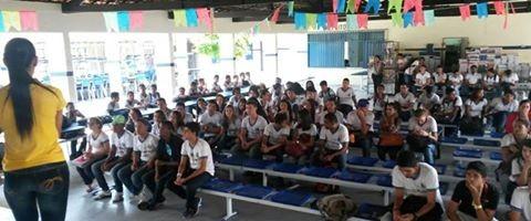 Atividade de coleta seletiva - Escola Adelina Almeida - Petrolina-PE - 12.06