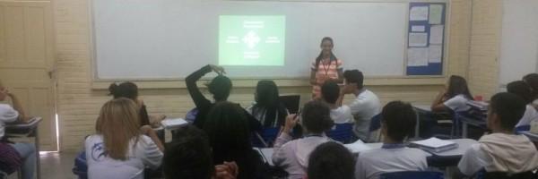 Atividade de coleta seletiva - Escola Otacílio Nunes de Souza - Petrolina-PE - 14.06.15