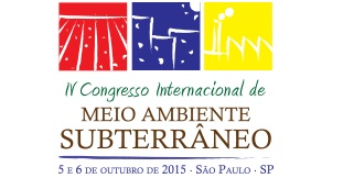 Logo IV Congresso Internacional de Meio Ambiente Subterrâneo