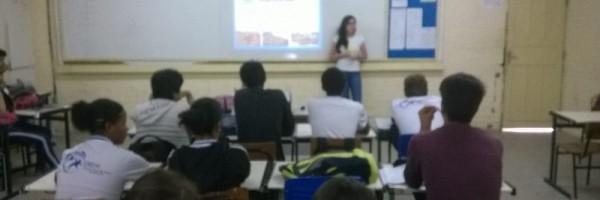 Atividade de saúde ambiental - Escola Otacílio Nunes de Souza - Petrolina-PE - 22.06.15